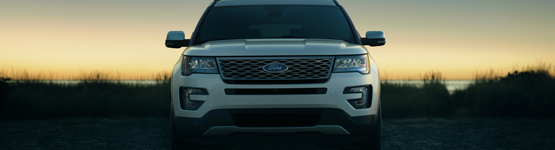 2019 Ford Explorer grille at Jerry Ford
