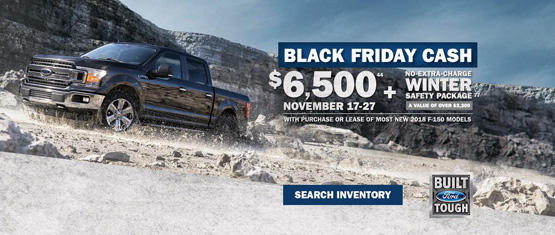 Ford Black Friday Truck