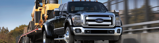 2019 ford f150 hauling heavy machinery
