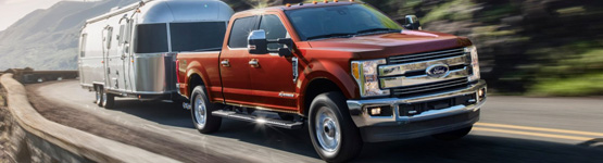 2019 ford f-150 with trailer attached
